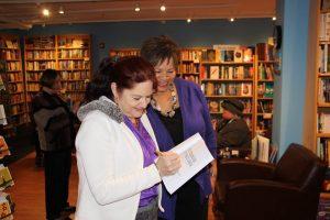 Book signing Main Point Pat Nogar