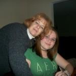 Mom-Mom and Allyson