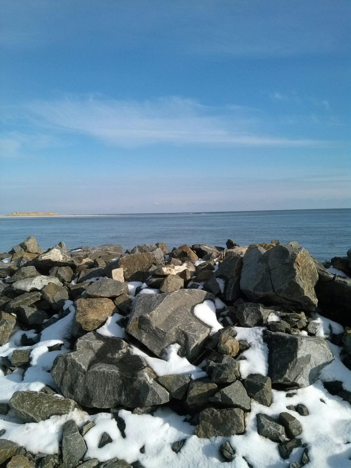 ocean meets the bay