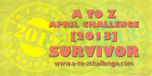 A-Z Survivor 2013