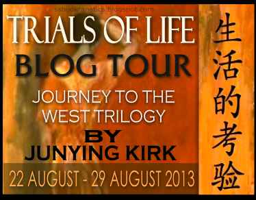 Author Junying Blog Tour Logo