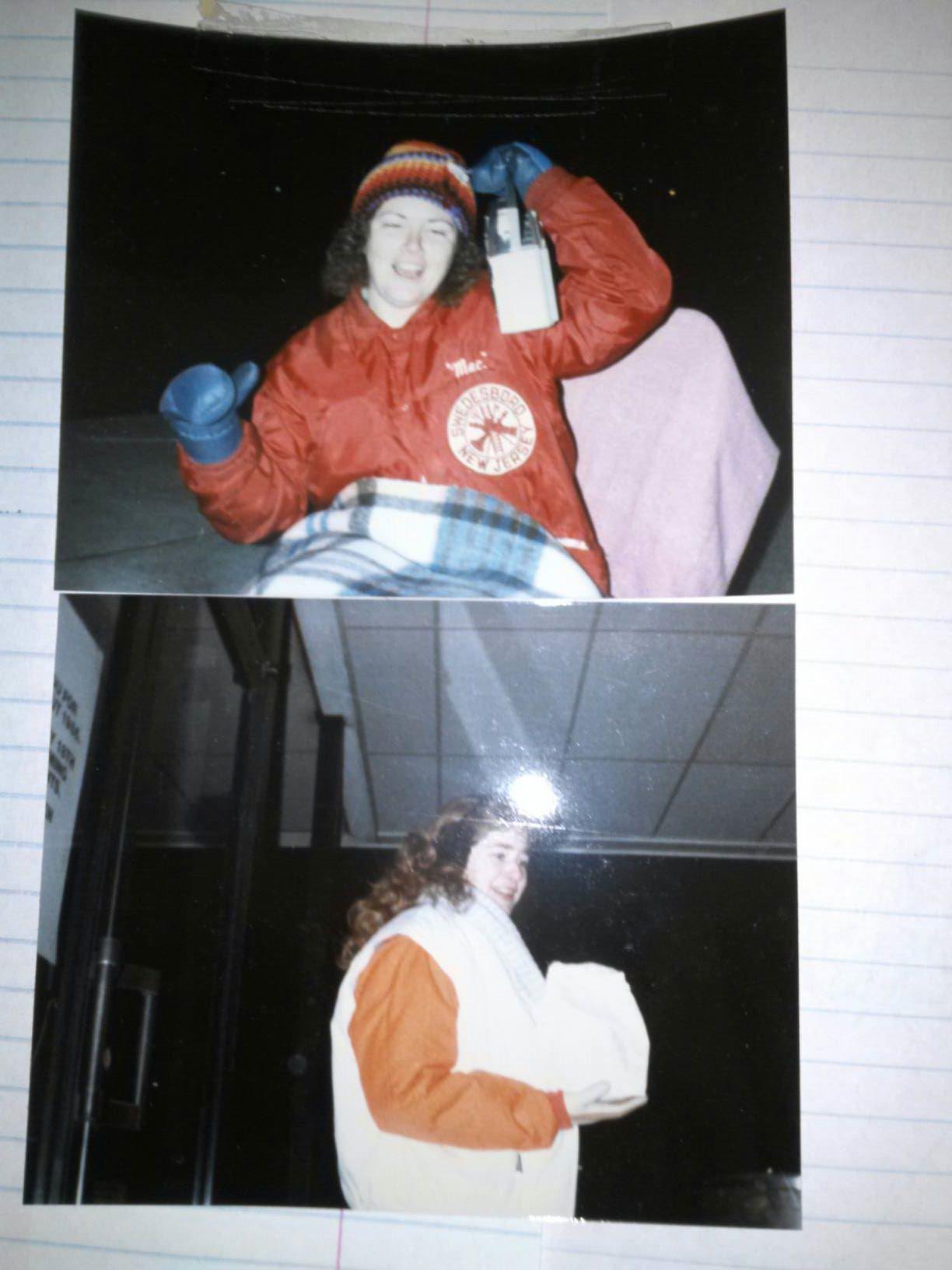 Alabama Jan and Doe in Blizzard