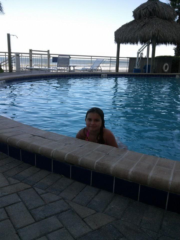 Florida Natalie in Pool