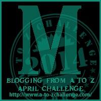 A-Z Letter M
