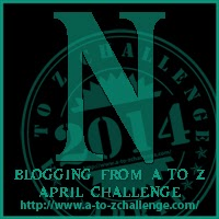 A-Z Letter N