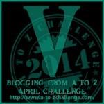 A-Z Letter V