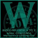A-Z Letter W