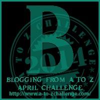 A-Z letter B