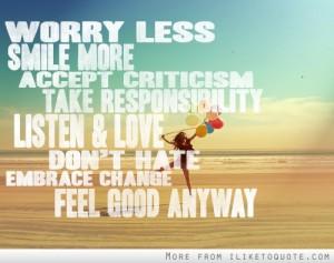 Worry Quote 2