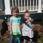 Adriana and Peyton Easter Eggs