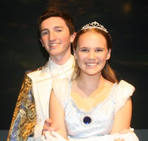 Media Theatre Cinderella and Prince Charming
