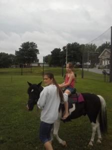 Avery on pony