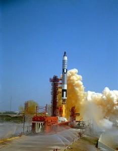 Rocket launch Gemini 4