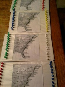 FLORIDA trip maps