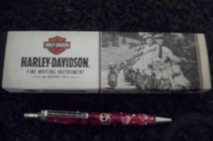 Harley pen and box