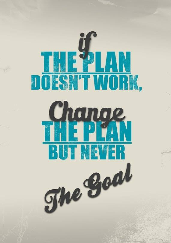 Plan Change Quotes Quotes Goals Change The Plan