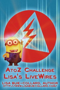 A-Z 2015 Minion Badge