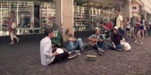 homeless musicians