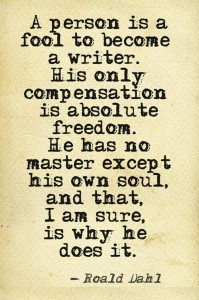 Quote writers soul