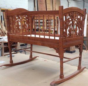 Woodworker cradle