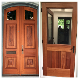 Woodworker door