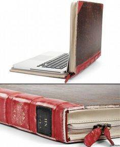 Laptop looks like book photo