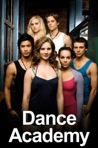 Dance Academy cast shot: (top row, l-r) Kat Karamakov (Alicia Banit), Ethan Karamakov (Tim Pocock), (Bottom row, l-r) Christian Reed (Jordan Rodrigues), Tara Webster (Xenia Goodwin), AbIgail Armstrong (Dena Kaplan) and Sammy Lieberman (Tom Green) in DANCE ACADEMY on Nickelodeon. Photo: Werner Film Productions