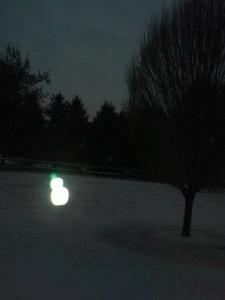 Snowman ghost