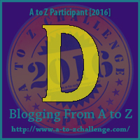 A to Z 2016 D