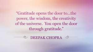 Gratitude Deepok Chopra