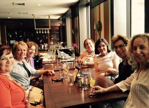 Mid Life writers meet IRL