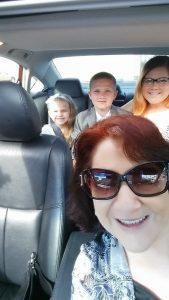 Doms Graduation ride w Mom Mom