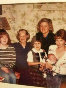 Doreen w 5 generations